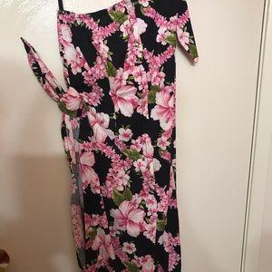 Dresses & Skirts - Pinup Tiki Sarong Dress